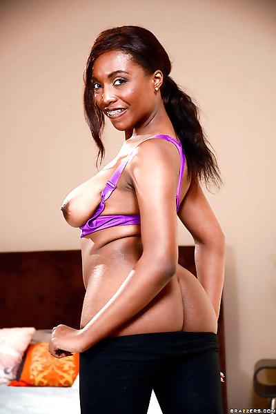 Young black girl Daya Knight..