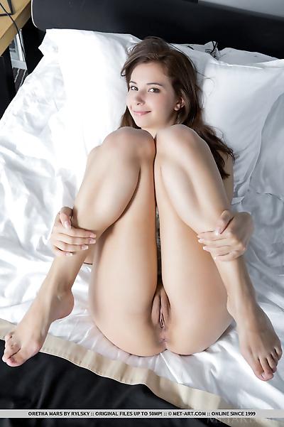 Cute brunette Oretha Mars..