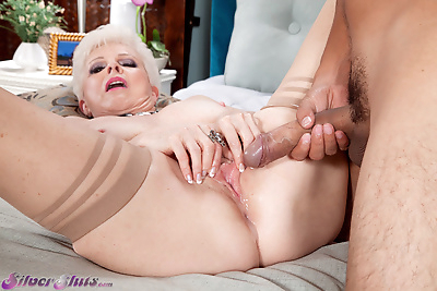 Topless grandmother Jewel..