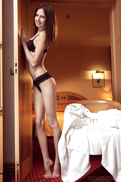 Skinny young girl Juliett..