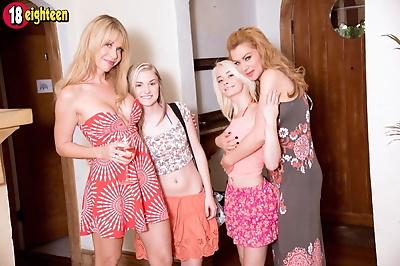 Russian lesbian coeds..