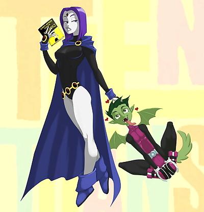 Raven Comic: Just for fun -..